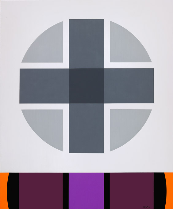 #20 , 1964  oil on canvas 51 x 42 inches; 129.5 x 106.7 centimeters