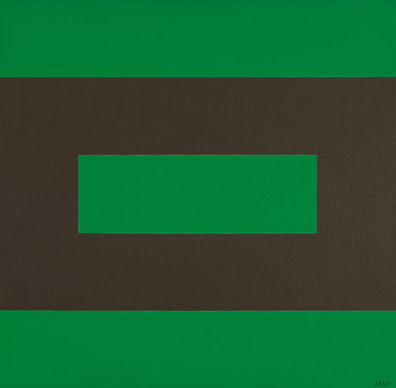 #33 , 1964  oil on canvas 42 x 42 inches; 106.7 x 106.7 centimeters