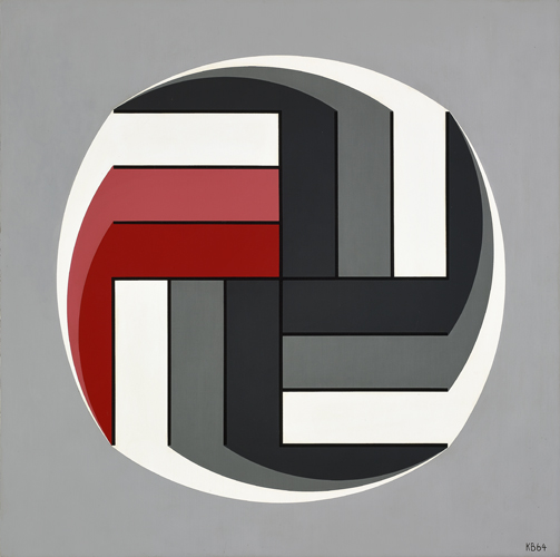 #31 , 1964  oil on canvas 32 x 32 inches; 81.3 x 81.3 centimeters