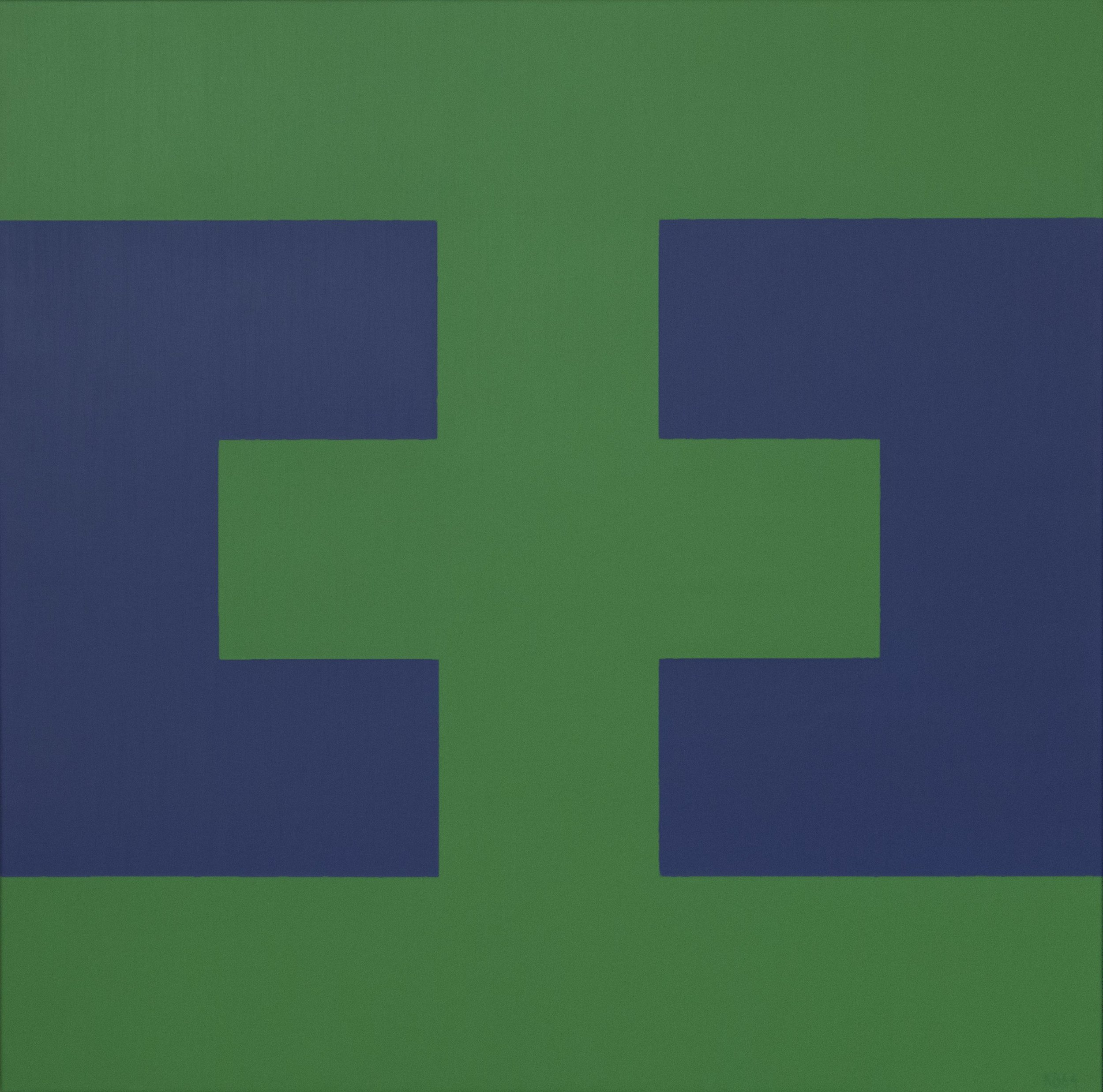 #32 , 1964  oil on canvas 42 x 42 inches; 106.7 x 106.7 centimeters