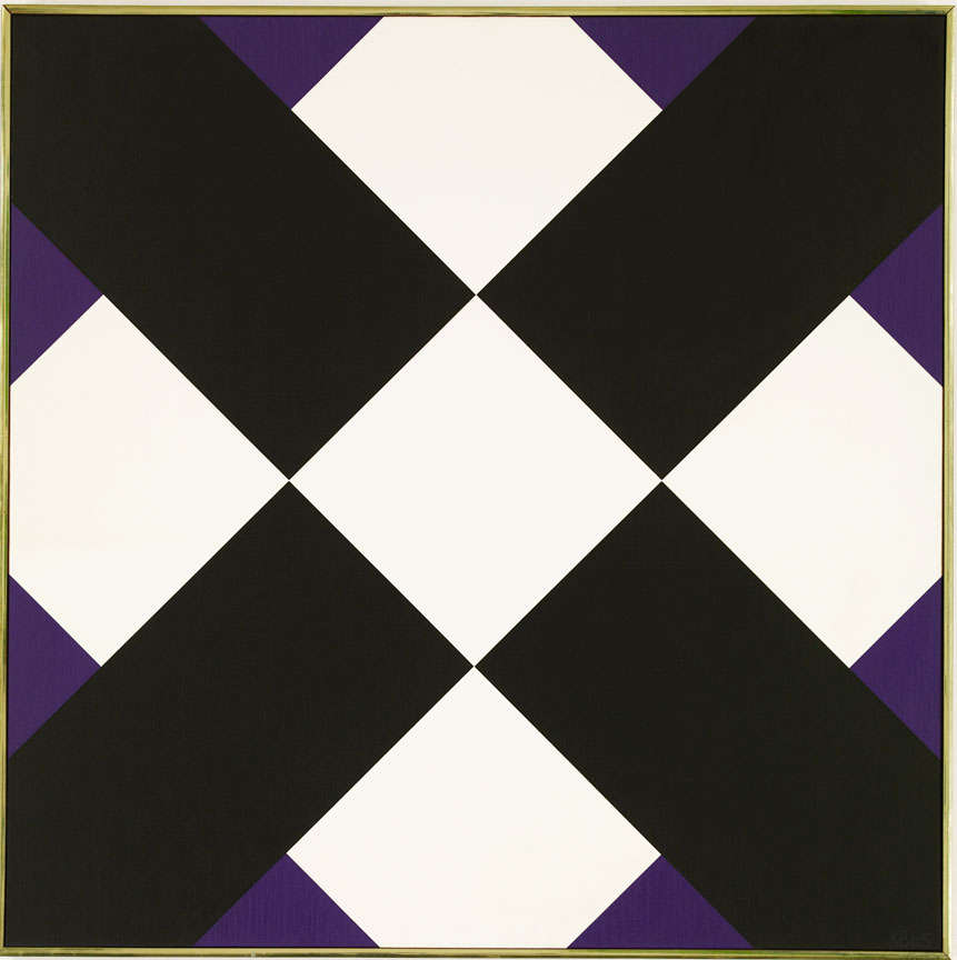 #24 , 1965  oil on canvas 42 x 42 inches; 106.7 x 106.7 centimeters