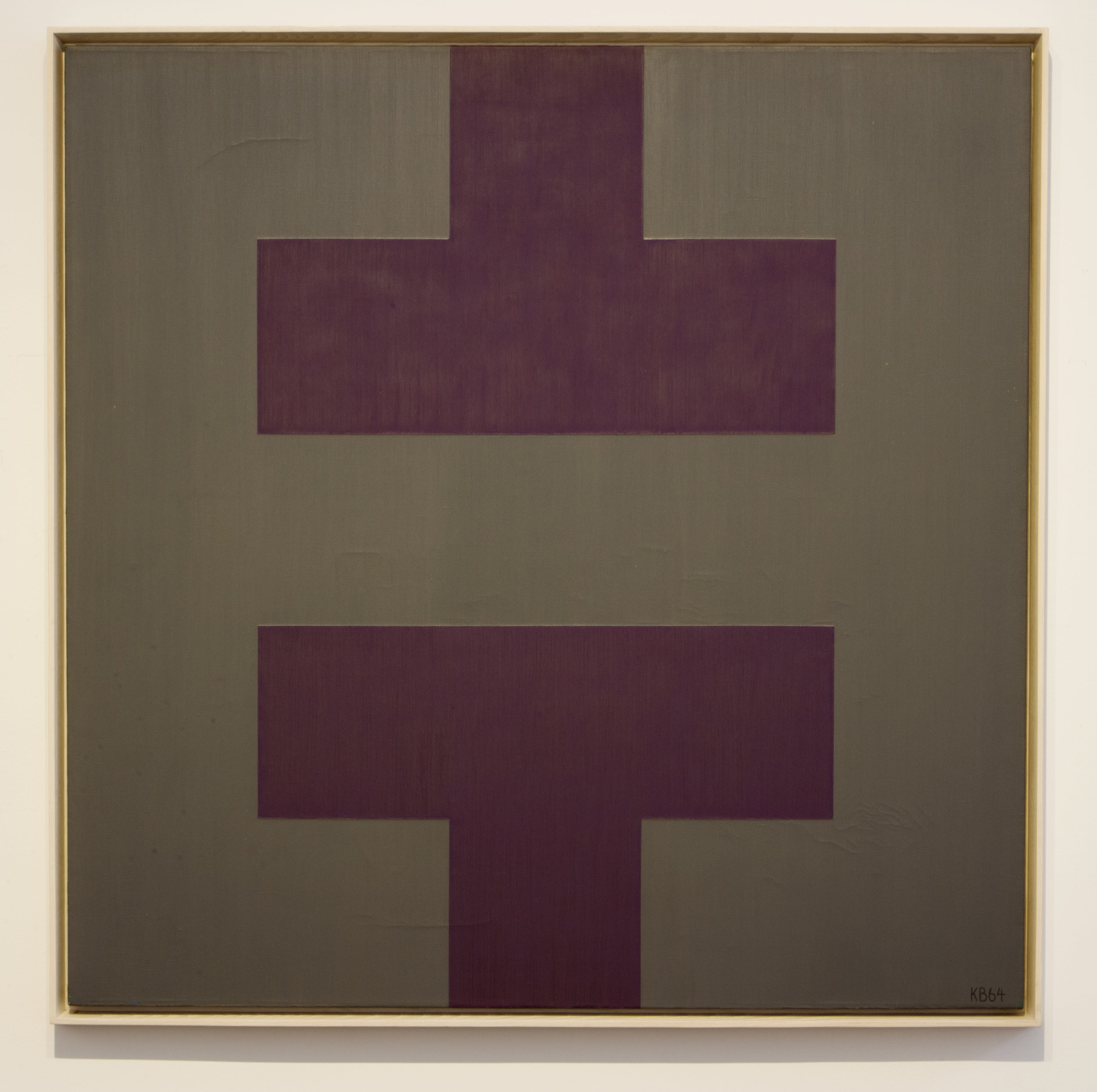 #36/2 , 1965  oil on canvas 42 x 42 inches; 106.7 x 106.7 centimeters
