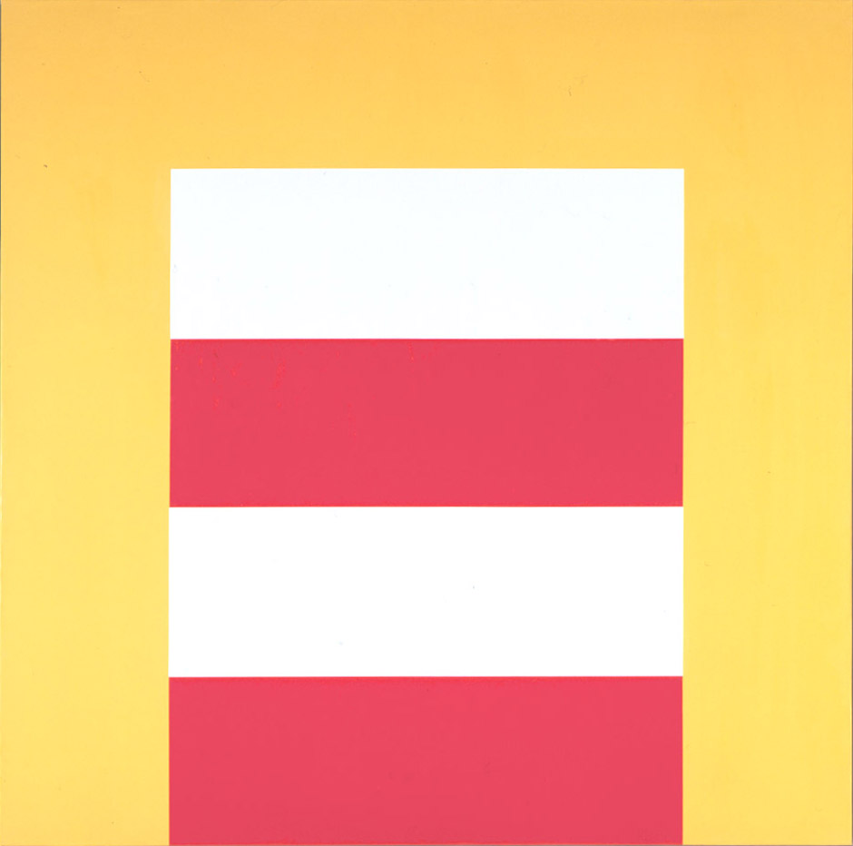 #14 , 1965  oil on canvas 42 x 42 inches; 106.7 x 106.7 centimeters