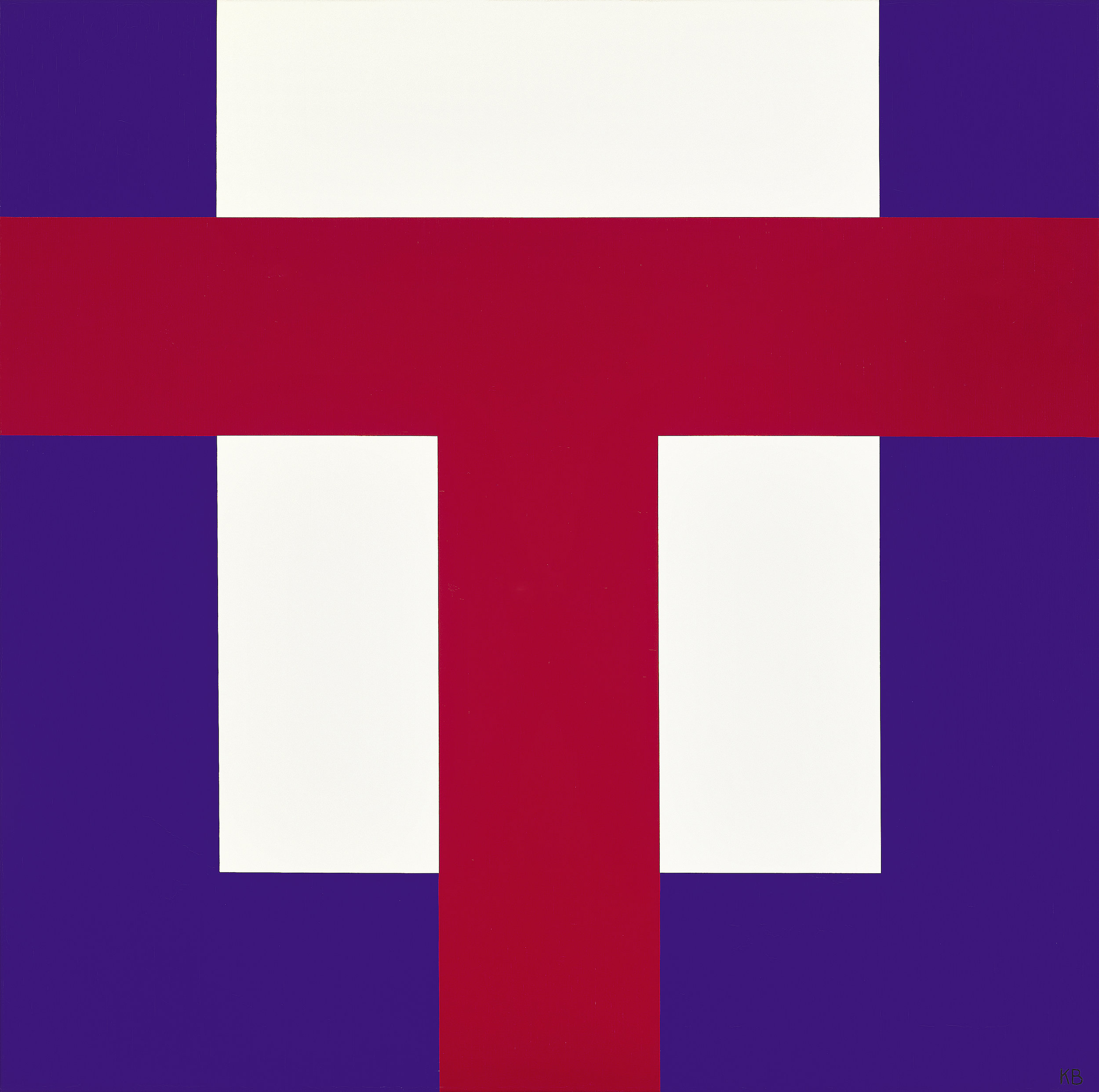 #40 , 1965  oil on canvas 42 x 42 inches; 106.7 x 106.7 centimeters