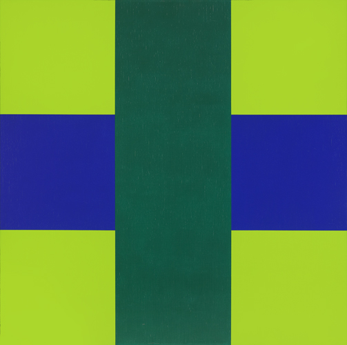 #49 , 1965  oil on canvas 42 x 42 inches; 106.7 x 106.7 centimeters