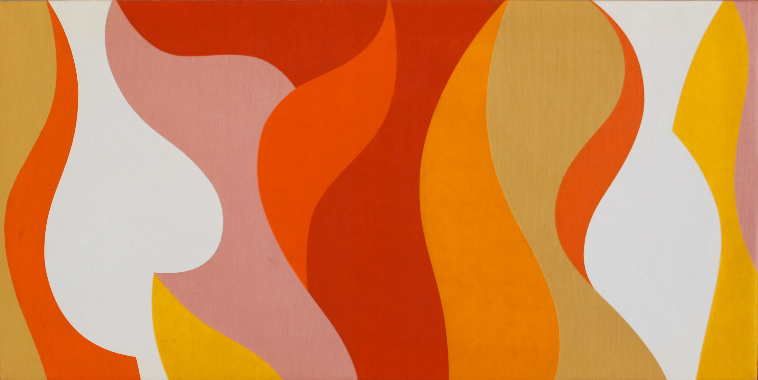 #30 , 1965  oil on canvas 25 1/2 x 51 inches; 65 x 130 centimeters