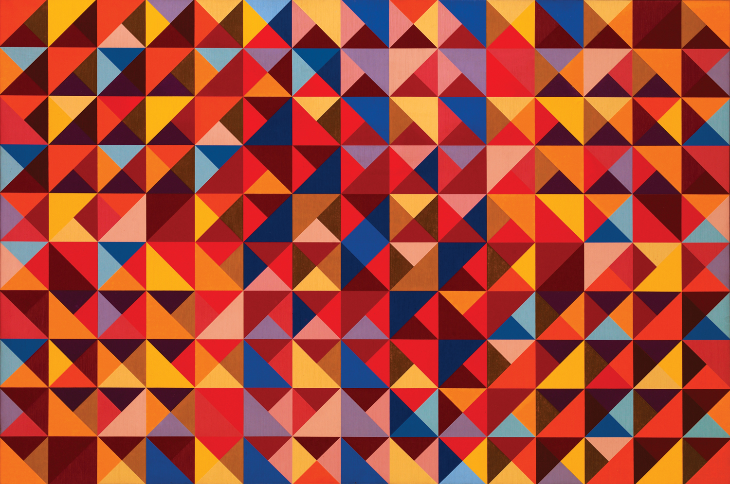 #7 , 1966  oil on canvas 40 x 60 inches; 101.6 x 152.4 centimeters