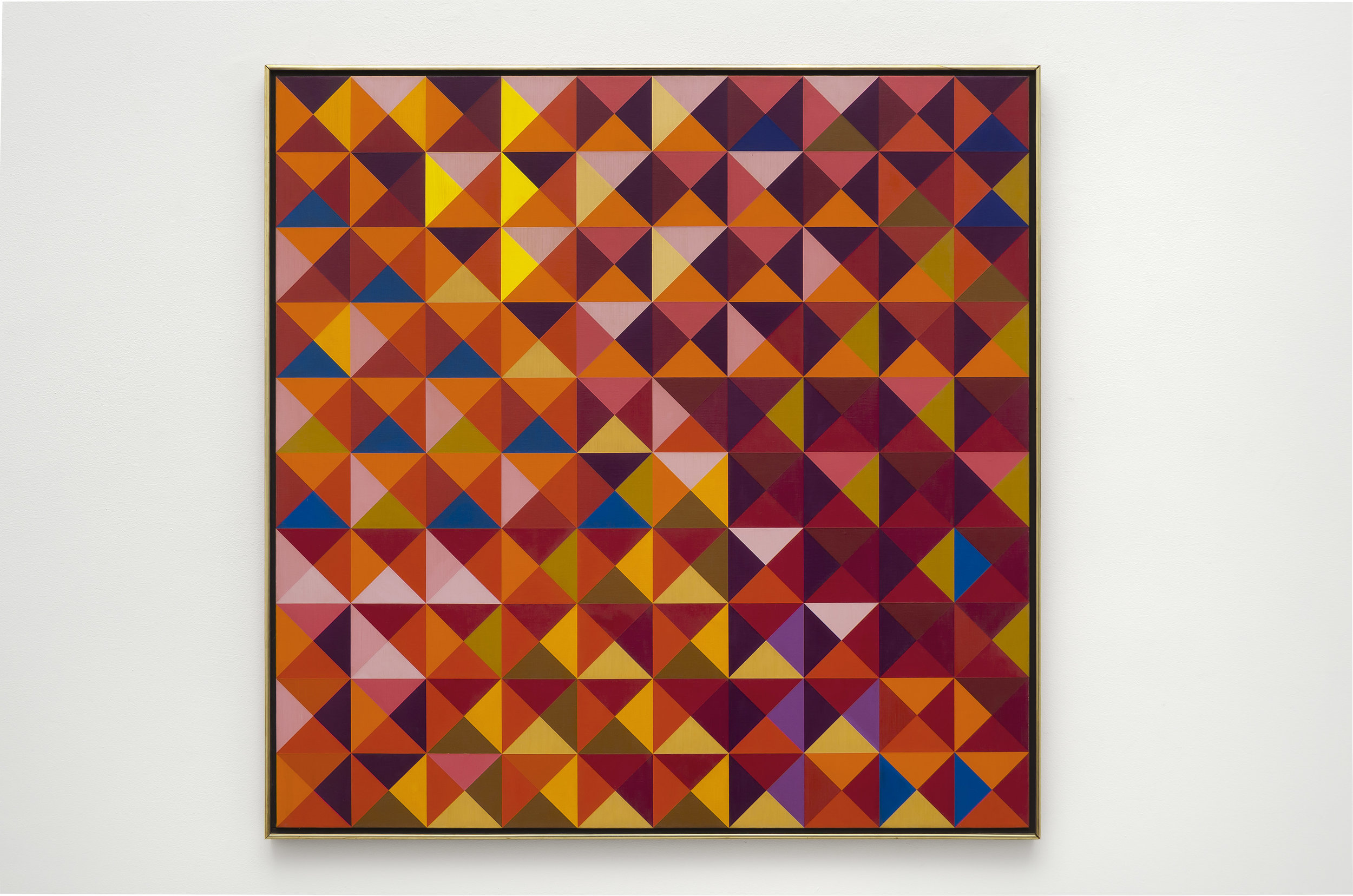 #2 , 1967  oil on canvas 42 x 42 inches; 106.7 x 106.7 centimeters