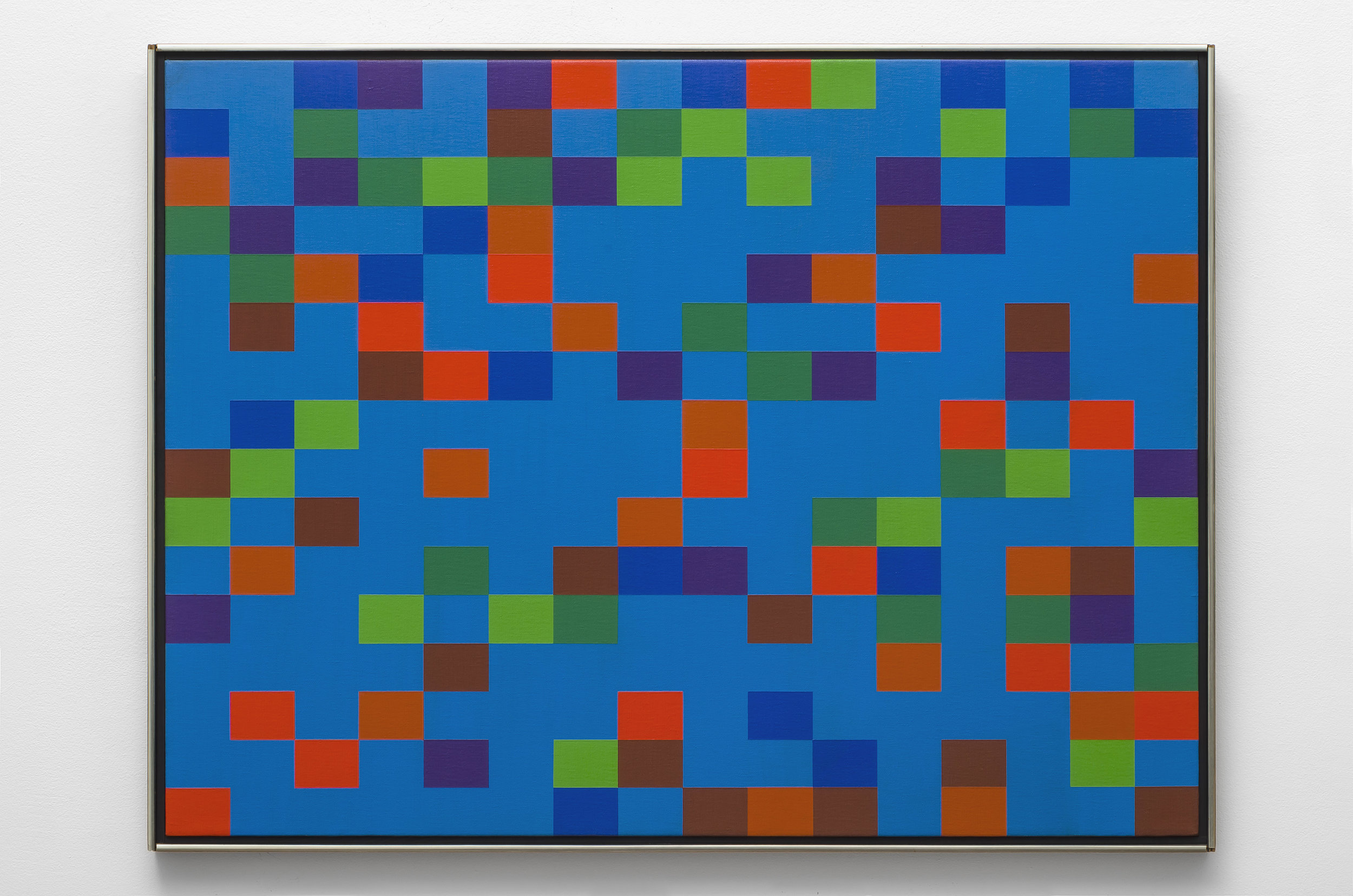 #7 , 1972  oil on canvas 30 x 40 inches; 76.2 x 101.6 centimeters
