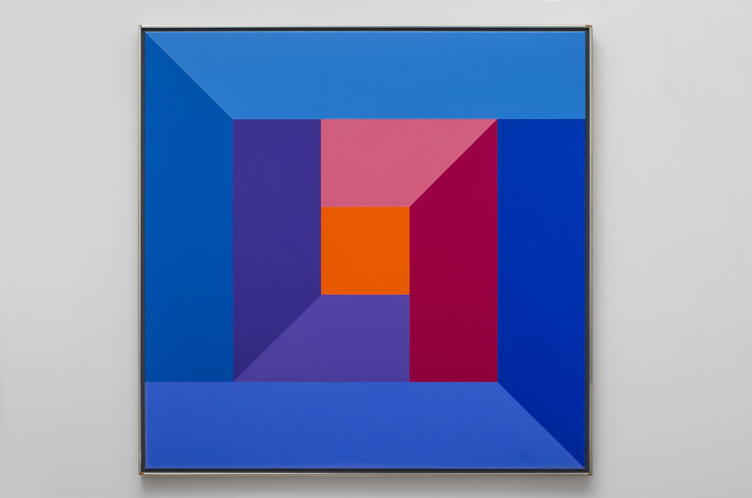#7 , 1974  oil on canvas 40 x 40 inches; 101.6 x 101.6 centimeters