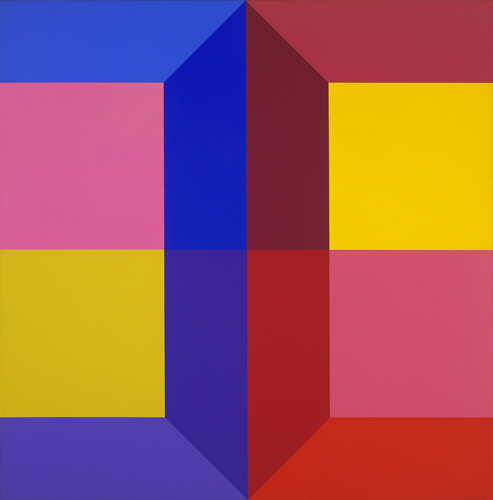 #17 , 1974  oil on canvas 48 x 48 inches; 121.9 x 121.9 centimeters