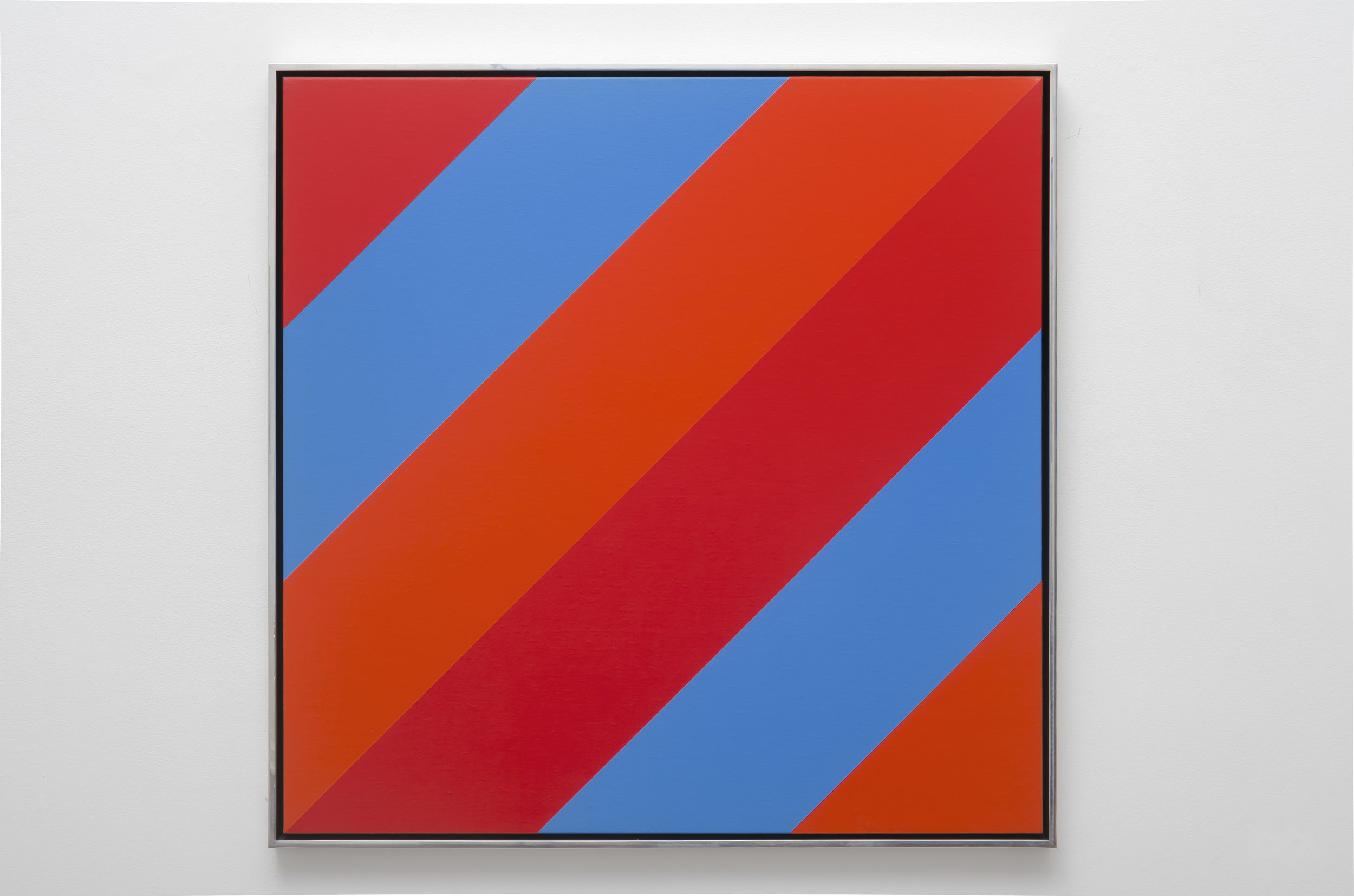 #10 , 1975  oil on canvas 36 x 36 inches; 91.4 x 91.4 centimeters