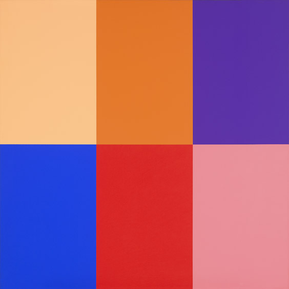 #14 , 1975  oil on canvas 36 x 36 inches; 91.4 x 91.4 centimeters