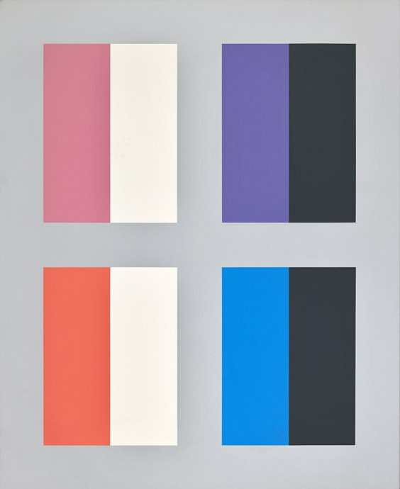 #20 , 1975  oil on canvas 58 1/2 x 48 inches; 148.6 x 121.9 centimeters