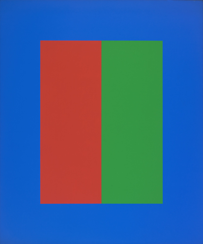 #17 , 1975  oil on canvas 48 x 40 inches; 121.9 x 101.6 centimeters