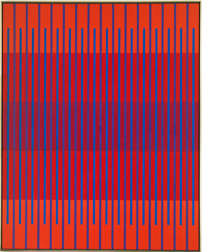 #1 , 1976  oil on canvas 59 1/2 x 47 1/2 inches; 151.1 x 120.7 centimeters