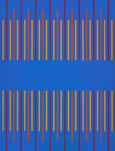 #5 , 1976  oil on canvas 56 x 40 inches; 142.2 x 101.6 centimeters