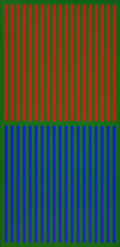 #36 , 1976  oil on canvas 41 x 20 inches; 104.1 x 50.8 centimeters