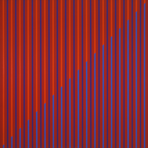 #23 , 1976  oil on canvas 53 1/2 x 53 1/2 inches; 135.9 x 135.9 centimeters