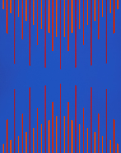 #25 , 1976  oil on canvas 59 1/2 x 48 inches; 151.1 x 121.9 centimeters