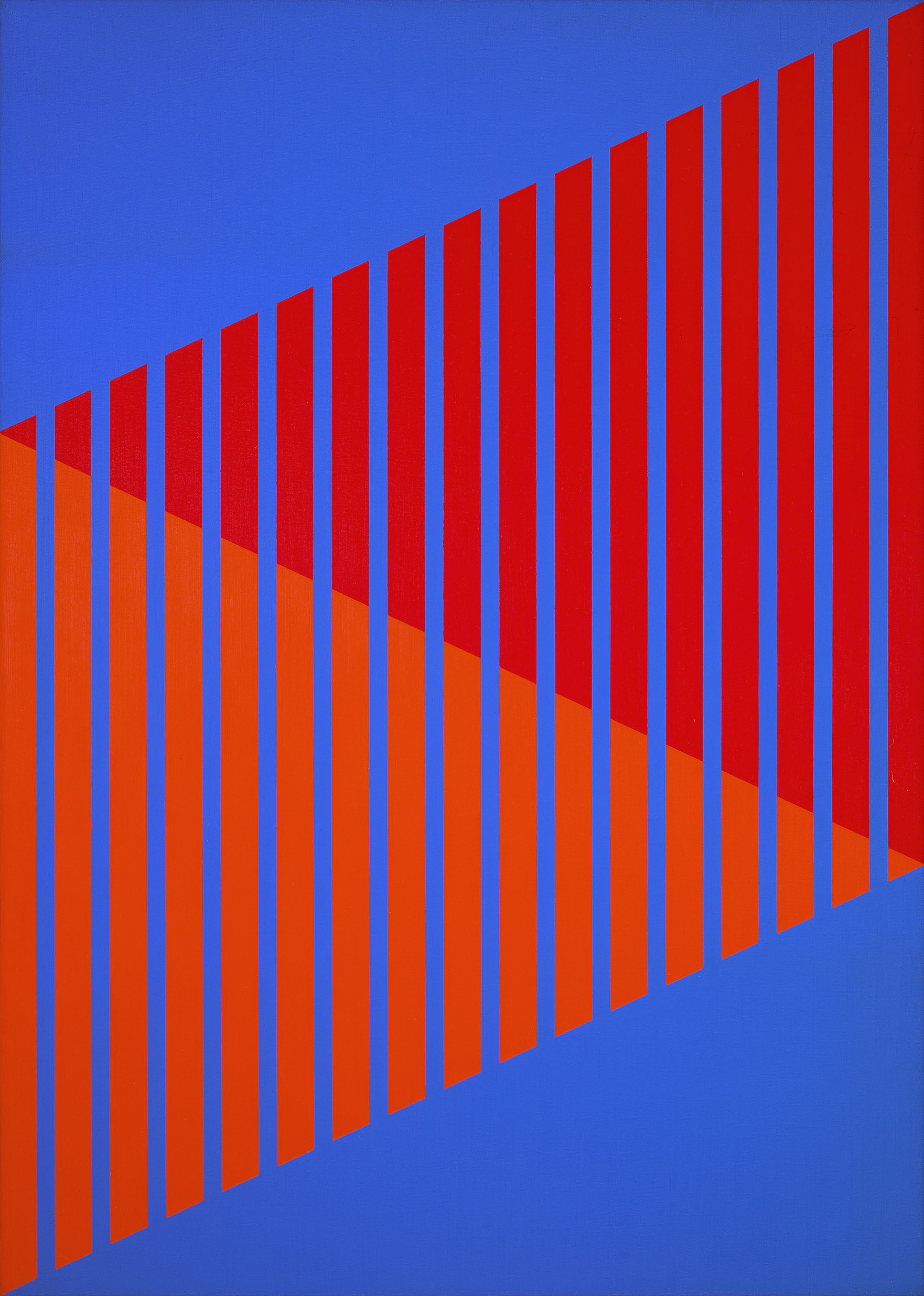 #2 , 1977  oil on canvas 35 x 25 inches; 88.9 x 63.5 centimeters