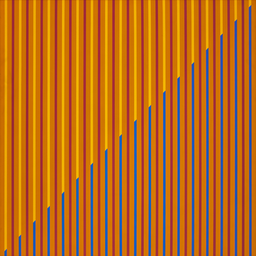 #11 , 1977  oil on canvas 53 1/2 x 53 1/2 inches; 135.9 x 135.9 centimeters