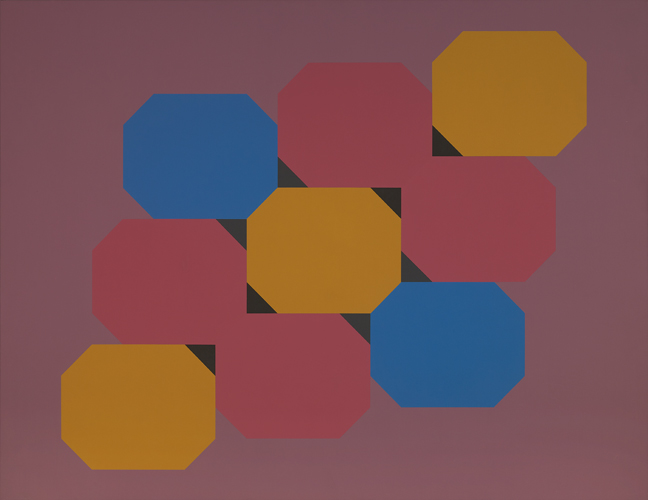 #16 , 1978  oil on canvas 48 x 63 inches; 121.9 x 160 centimeters