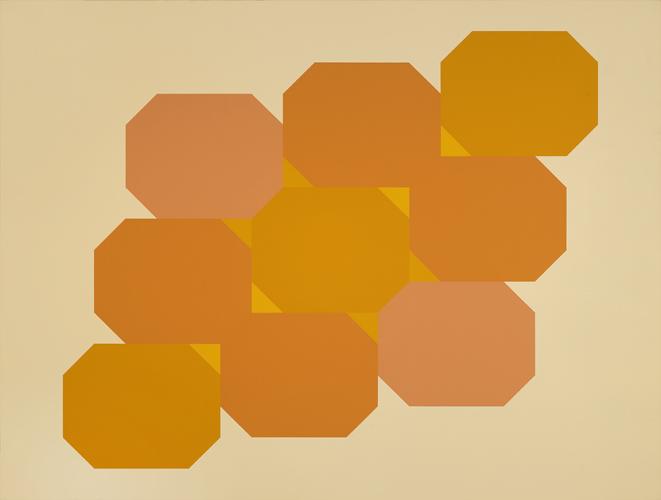 #8 , 1979  oil on canvas 48 x 63 inches; 121.9 x 160 centimeters
