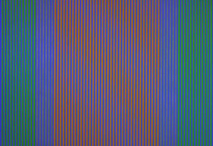 #26 , 1977  oil on canvas 50 x 72 1/2 inches; 127 x 184.2 centimeters