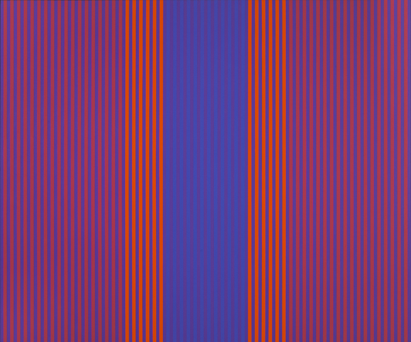 #17 , 1977  oil on canvas 50 x 60 1/2 inches; 127 x 153.7 centimeters