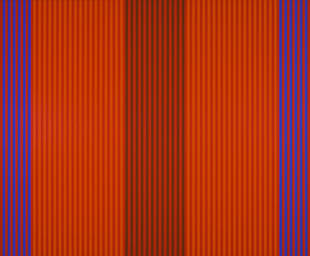 #1 , 1978  oil on canvas 50 x 60 1/2 inches; 127 x 763.3 centimeters