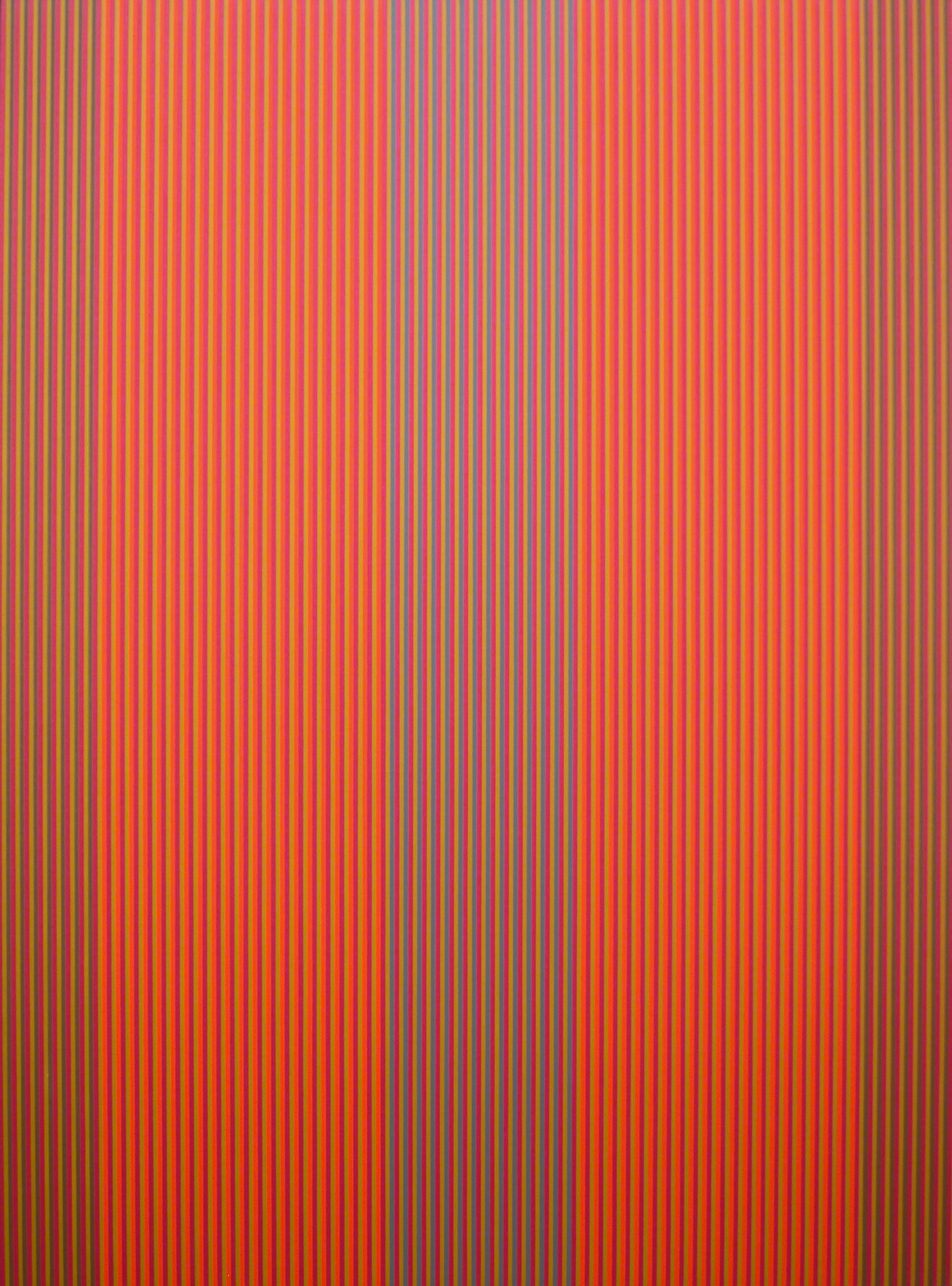 #22 (red, orange) , 1979  oil on canvas 72 x 54 inches; 182.9 x 137.2 centimeters