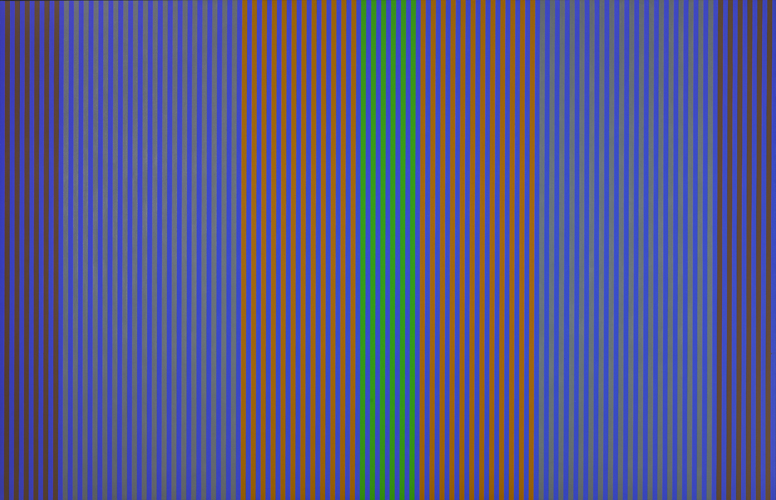 #15 , 1978  oil on canvas 50 x 78 1/2 inches; 127 x 199.4 centimeters