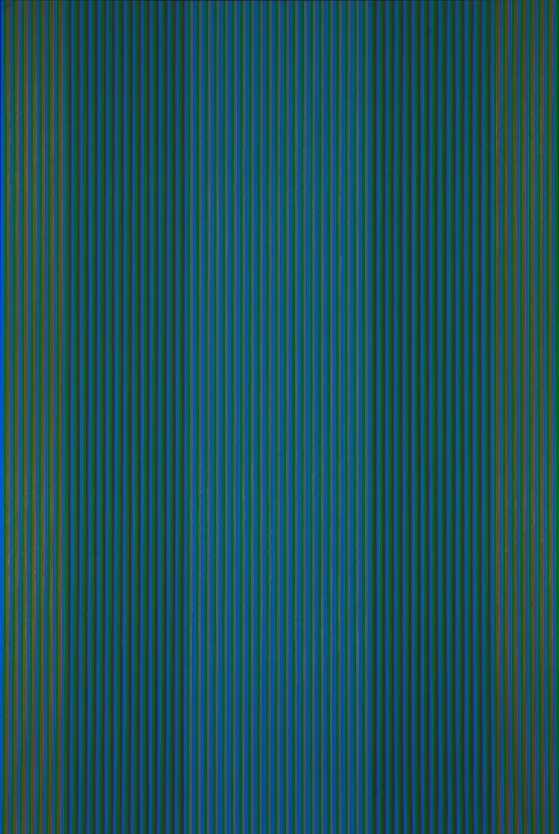 #3 (yellow, purple) , 1980  oil on canvas 72 x 54 inches; 182.9 x 137.2 centimeters