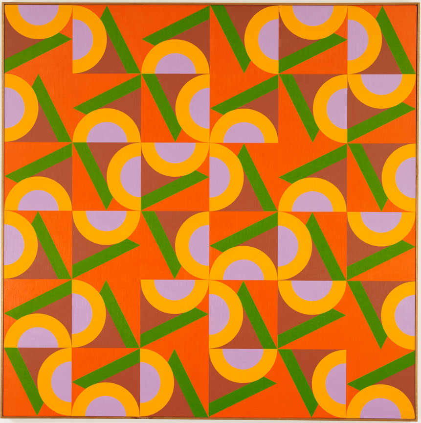 #15 , 1984  oil on canvas 60 x 60 inches; 152.4 x 152.4 centimeters