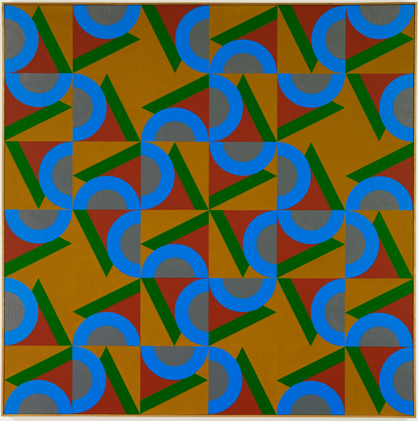 #16 , 1984  oil on canvas 60 x 60 inches; 152.4 x 152.4 centimeters