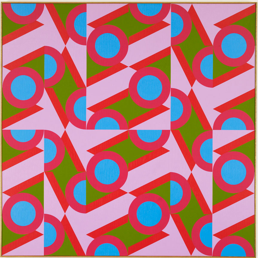 #14 , 1984  oil on canvas 60 x 60 inches; 152.4 x 152.4 centimeters