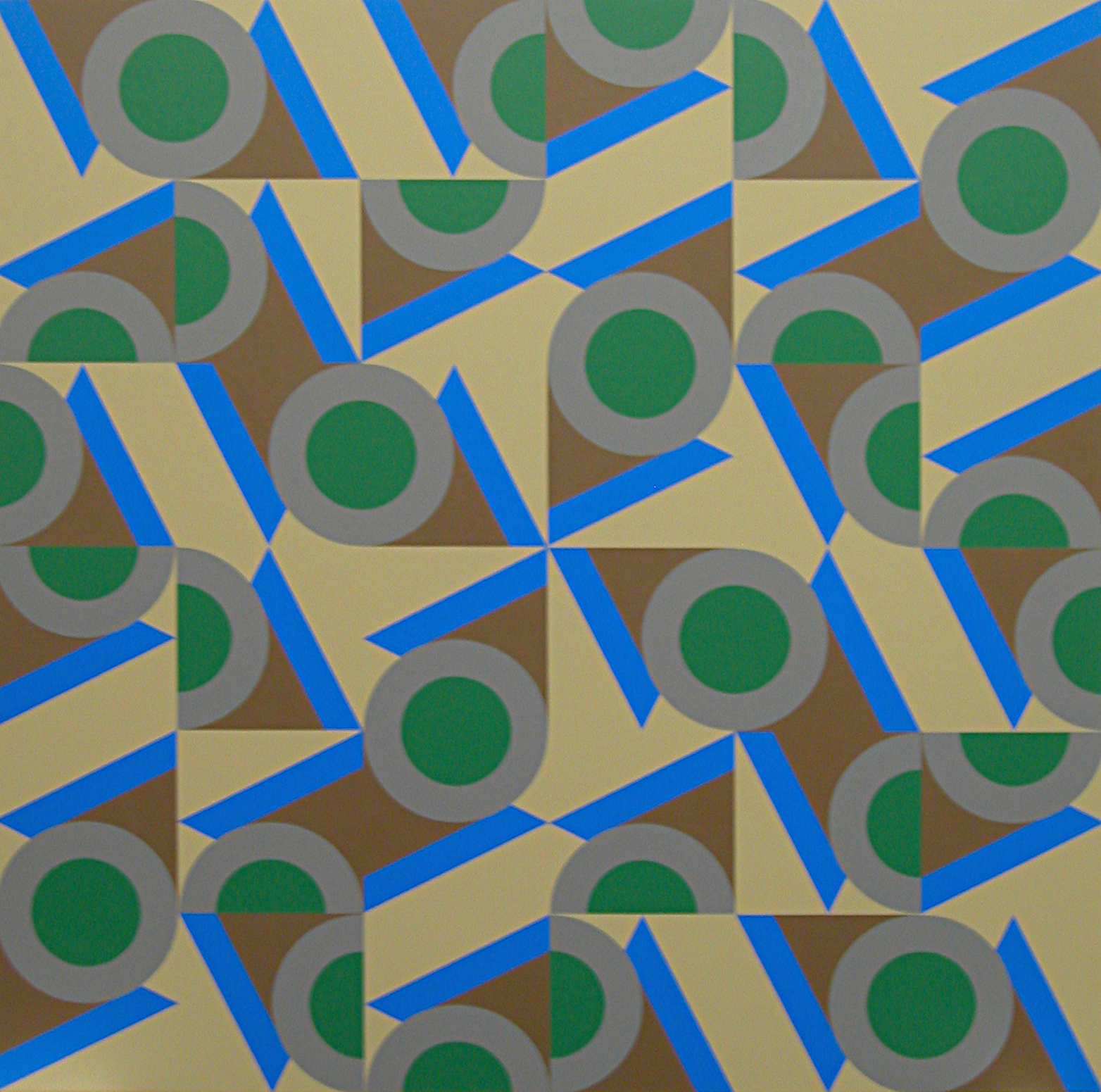 VC #2 , 1984  oil on canvas 60 x 60 inches; 152.4 x 152.4 centimeters