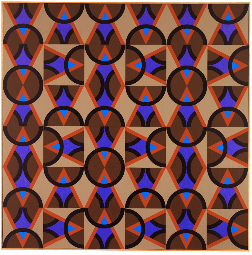 #13 , 1985  oil on canvas 60 x 60 inches; 152.4 x 152.4 centimeters