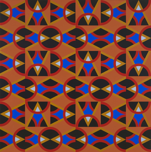 #14 , 1985  oil on canvas 60 x 60 inches; 152.4 x 152.4 centimeters