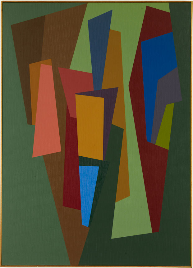 #3 , 1986  oil on canvas 63 x 45 inches; 160 x 114.3 centimeters