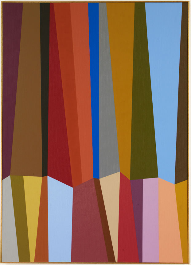 #18 , 1986  oil on canvas 63 x 45 inches; 160 x 114.3 centimeters