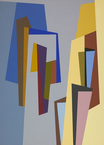 #6 , 1986  oil on canvas 63 x 45 inches; 160 x 114.3 centimeters