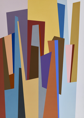 #9 , 1986  oil on canvas 63 x 45 inches; 160 x 114.3 centimeters