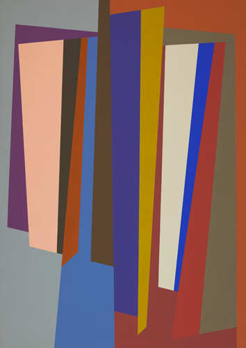 #12 , 1986  oil on canvas 63 x 45 inches; 160 x 114.3 centimeters