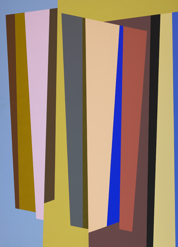 #14 , 1986  oil on canvas 63 x 45 inches; 160 x 114.3 centimeters