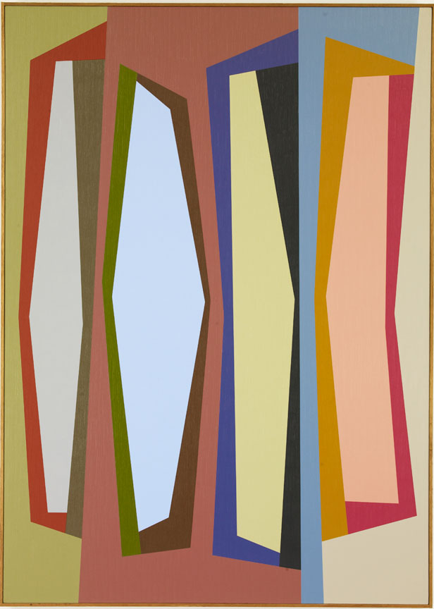 #11 , 1987  oil on canvas 63 x 45 inches; 160 x 114.3 centimeters