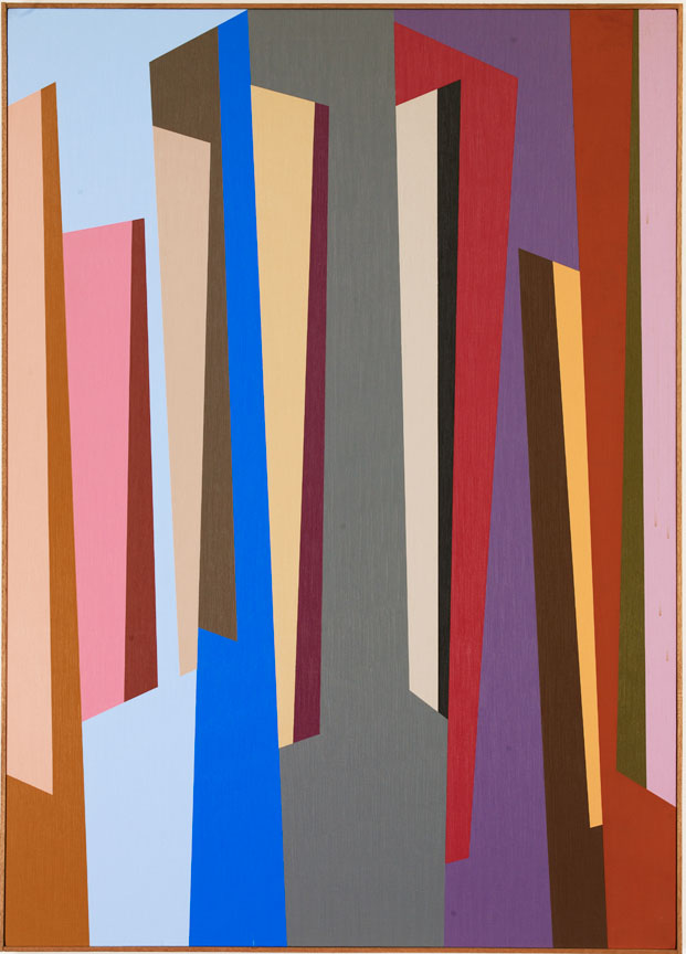 #7 , 1987  oil on canvas 63 x 45 inches; 160 x 114.3 centimeters