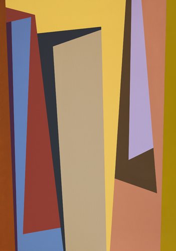 #1 , 1987  oil on canvas 63 x 45 inches; 160 x 114.3 centimeters