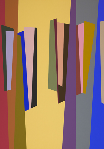 #4 , 1987  oil on canvas 63 x 45 inches; 160 x 114.3 centimeters